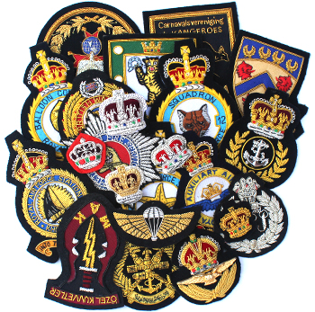 BULLION BADGES & BLAZER BADGES