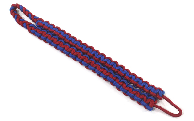 Shoulder Cord Red Blue