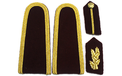 Army Uniform Shoulder Boards Supplier