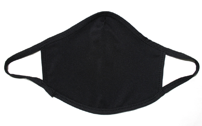 Black Cotton Face Mouth Mask Supplier