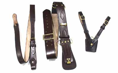 British Officers Sam Browne belt and cross strap
