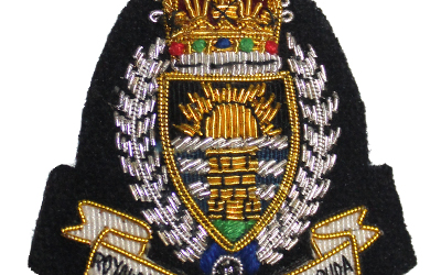 Bullion Badge Royal Police Force