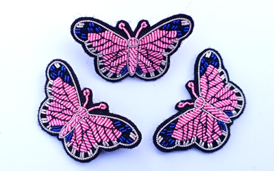 Hand Embroidery Bullion Brooches Manufacturer