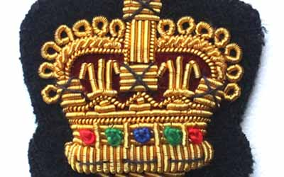 Gold Bullion Crown Badge