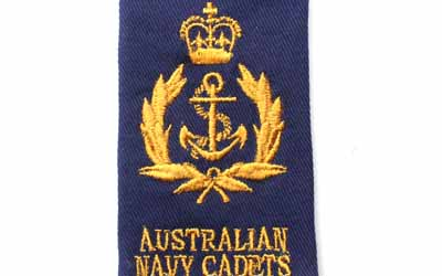 Cadet Chief Petty Officer Navy Rank Slide