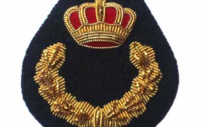Cap Bullion Badge Crown