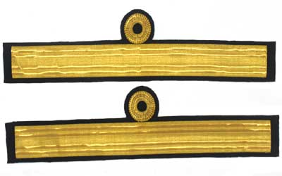 Cuff Rank Sleeve Commodore 2nd Class