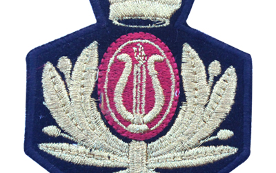 Custom Embroidery Patches Crown
