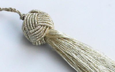 Decorative Metallic tassels