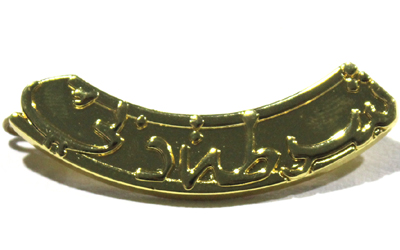 Dubai Police Officer Metal Badge