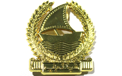 Dubai Police Pin Cap Badge