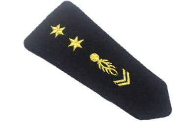 Embroidered Uniform Epaulette