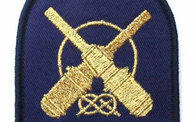 Boatswains Mate RAN Embroidery Badge
