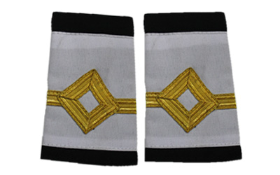 Epaulettes Merchant Navy Slip On