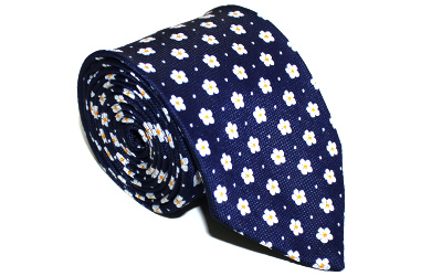 Masonic Ties Forget Me Not Necktie