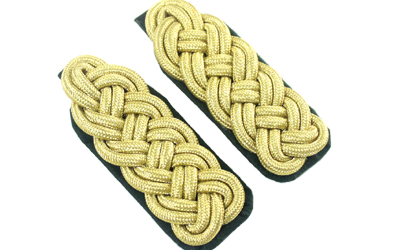 WW2 German Gold Braid Shoulder Board