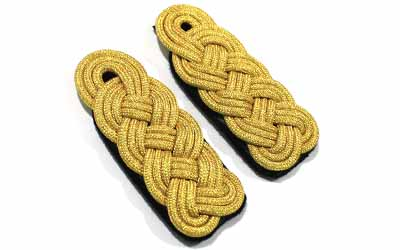 WWII German Heer Brigadier General Shoulder Boards