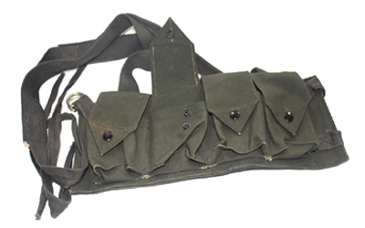 WW1 German Mounted Green Ammo Belt