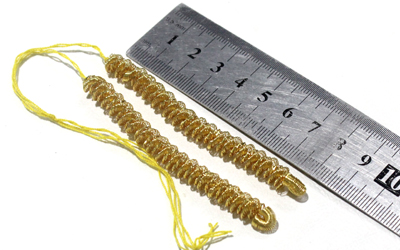 Gold Bullion Caterpillar Fringe Supplier
