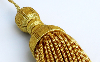 Decoration Gold Bullion Tassel