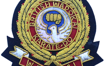 Hand Embroidery Family Crest Blazer Badge