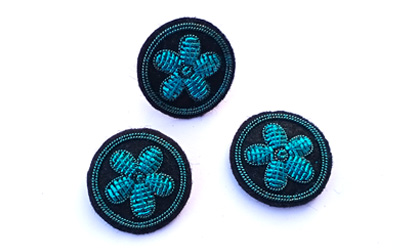 Fashion Clothes Use Patch Badges