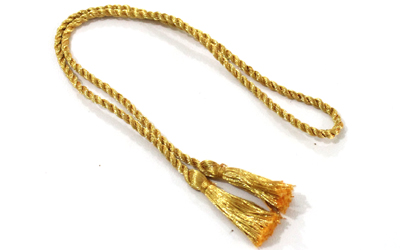 Metallic Gold Graduation Cord