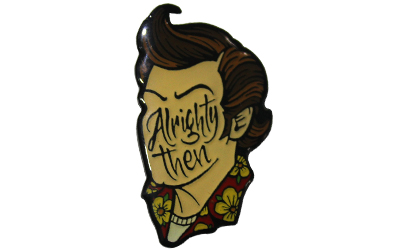 Men Face Cartoon Lapel Pin Supplier