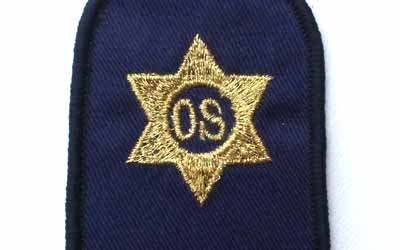Officer Steward Rate Badge