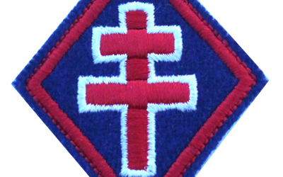 knight templar Embroidered Patch