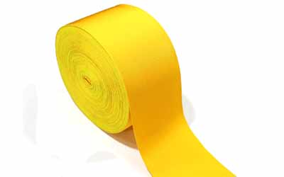 Masonic Regalia Ribbon Yellow