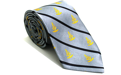 Masonic Compass Grand Master's Necktie