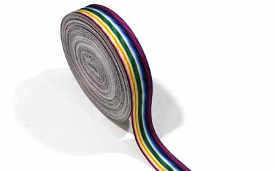 Medal Ribbon Rainbow