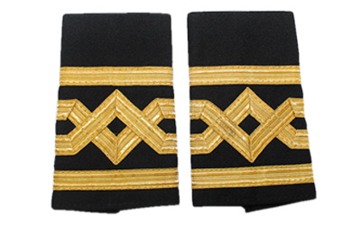 Merchant Navy Epaulette Caption Master