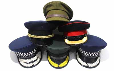 Military Uniform Peak Cap Suppliers And Manufacturer