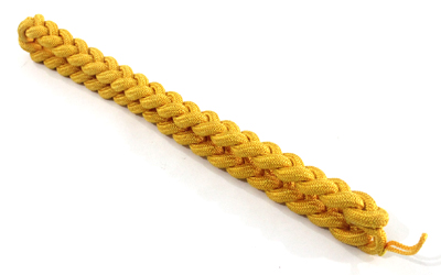 Military Shoulder Cord Nylon Gold