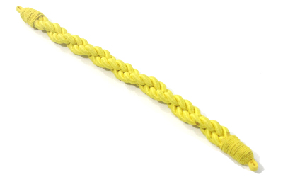 Military Silk Cap Cord Yellow