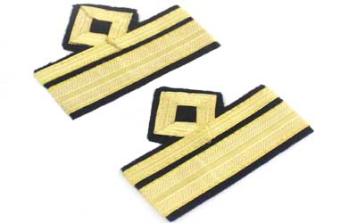 Military Rank Side Slip On