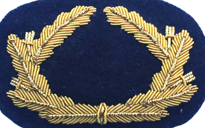 Navy Cap Bullion Badge Supplier