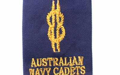 Navy Rank Slide Cadets Able Seaman