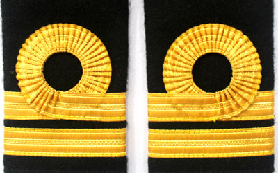 Navy Epaulettes and Shoulder Straps, Navy Shoulder Straps