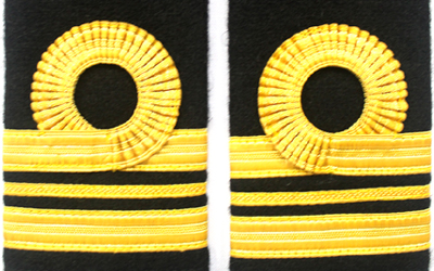 Navy Ranks Slide Gold Lace Lieutenant Commander