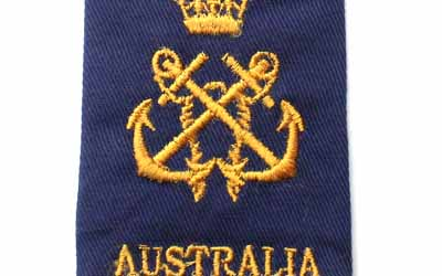 Australia Shoulder Rank Slide Petty Officer