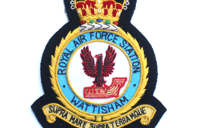 Royal Air Force Station Wattisham Embroidered Badge