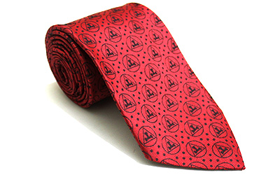 Masonic Royal Arch Red Tie new design Triple Taus