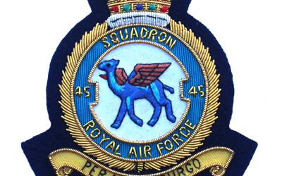 Royal Air Force Bullion Embroidery Badge Supplier