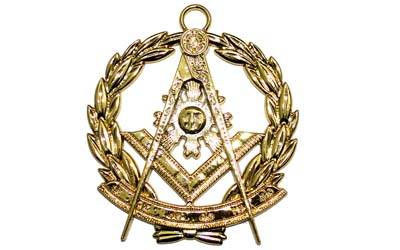 Craft Provincial Scottish Collar Grand Lodge Jewel - Past Master Golden Metal |