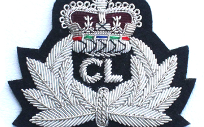 Silver Crown Bullion  Badge