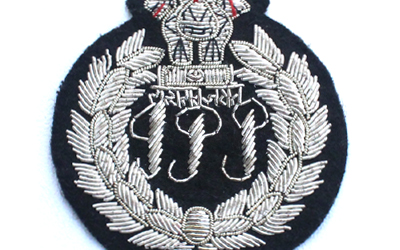 Silver Bullion wire Badges Supplier