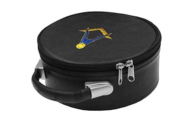 Masonic Square Compass Embroidered Cap case